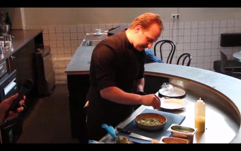 Vlog van ATL Seafood. Koken met Pepijn zeeduivel carpacchio